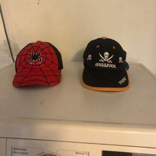 7-12 år svarta 25:- & Spider-Man 60:-