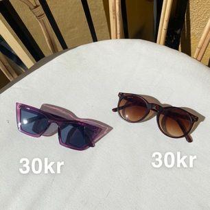 Superduper najs solglasögon!☀️ 30kr styck, båda två i nyskick! Kan ses på söder eller TC😋