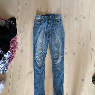 Blåa jeans från Lager 157. Strl XS. Bra skick. 50kr