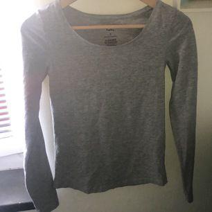 Basic grå tröja som alltid är bra att ha. Har en likadan, svart längre ner i flödet.