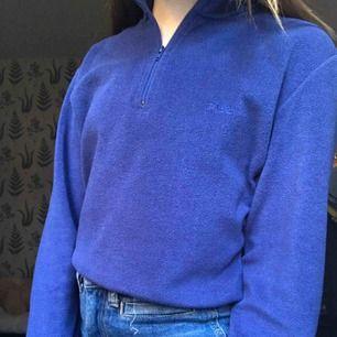 Blå zip-up tröja från fila 💙