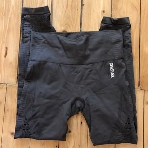 Energy seamless leggings från Gymshark i färgen grå. Storlek M. 🤚🏼 Köparen står för frakten. Endast provade.