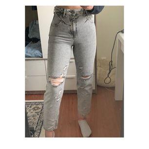 Jeans från zara i strl 34 passar på mig som är 170!