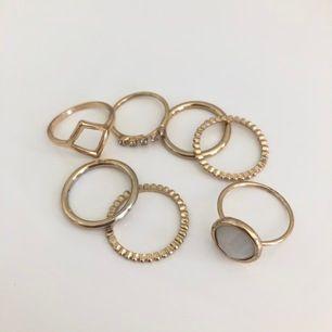 Guldiga ringar som inte kommer till användning⚡️ 30kr inkl frakt