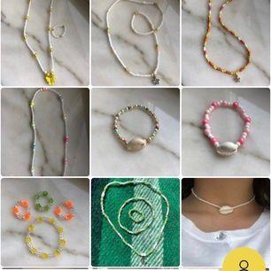 Jag säljer massvis av snygga smycken! Kolla in min sida eller instagram @kissntelljewelry 🥳 Smycken från 40kr💙 Alla smycken är töjbara💛 Bra kvalité💚