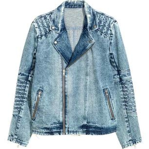 H&m denim jacket. Excellent condition.    Size M please check my other items! :)