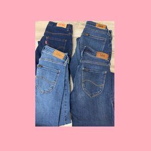 Jeans från Lee och Levi's🌸 90kr/paret🌸