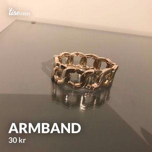Guld armband, 30 + 11 kr i porto