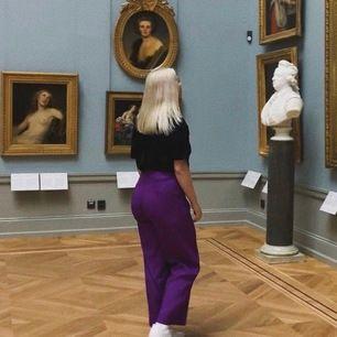 as balla lila kostym byxor, älskar dem men har inte fått så mycket användning till dem.