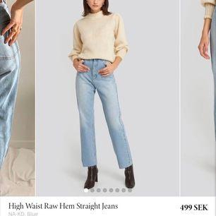 de mycket populära jeansen från nakd, knappt använda