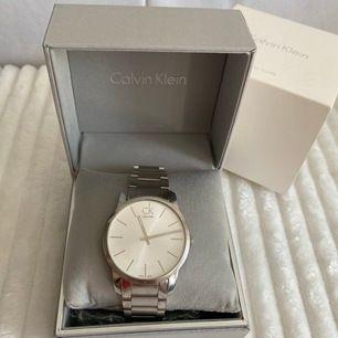 Calvin Klein klocka, 43mm. Originalförpackning & nytt batteri 14/6-20. Inkl frakt.
