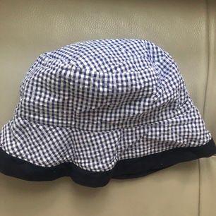 Gingham rutig bucket hat,