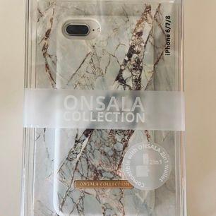 Superfint mobilskal från Onsala Collection. Passar till iPhone 6,7,8. Fick i present, men hann tyvärr aldrig använda det innan jag bytte mobil. Helt oanvänt och i obruten förpackning. Betalning sker via swish. 100kr+frakt!🥰