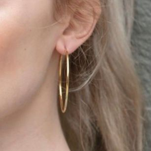 Ett par super söta örhängen i en guldaktig färg, aldrig använda. Köptes på Gina för 100kr och säljer för 60kr🤍