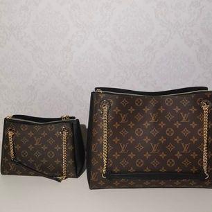 Louis väska i 100% äkta läder ingår box pris på den liten är 1899kr på dem stora så är det 2499kr