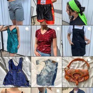 Följ melioretro på Instagram!! Säljer unika kläder billigt