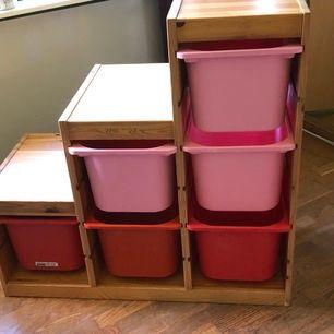 Ikea trofast förvaringsmöbel med 6 lådor. Hämtas i Mo I Söderhamn 😊