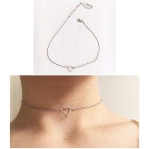 Halsband / choker med hjärta💖 70kr inkl frakt🌸