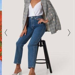 Super snygga jeans från Nakd! Aldrig använda! Frakt 79kr!!🦋  nypris 500kr!