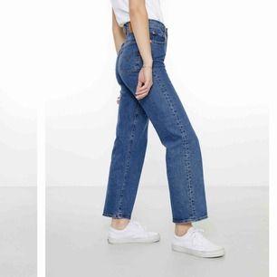 Ett par snygga ribcage levis jeans som blivit korta för mig och nog skulle passa bra på någon som är 170 eller kortare💗