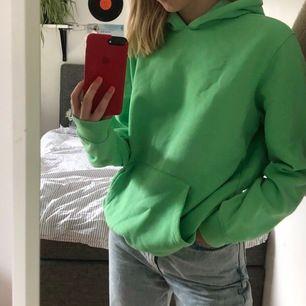 grön hoodie köpt från carlings