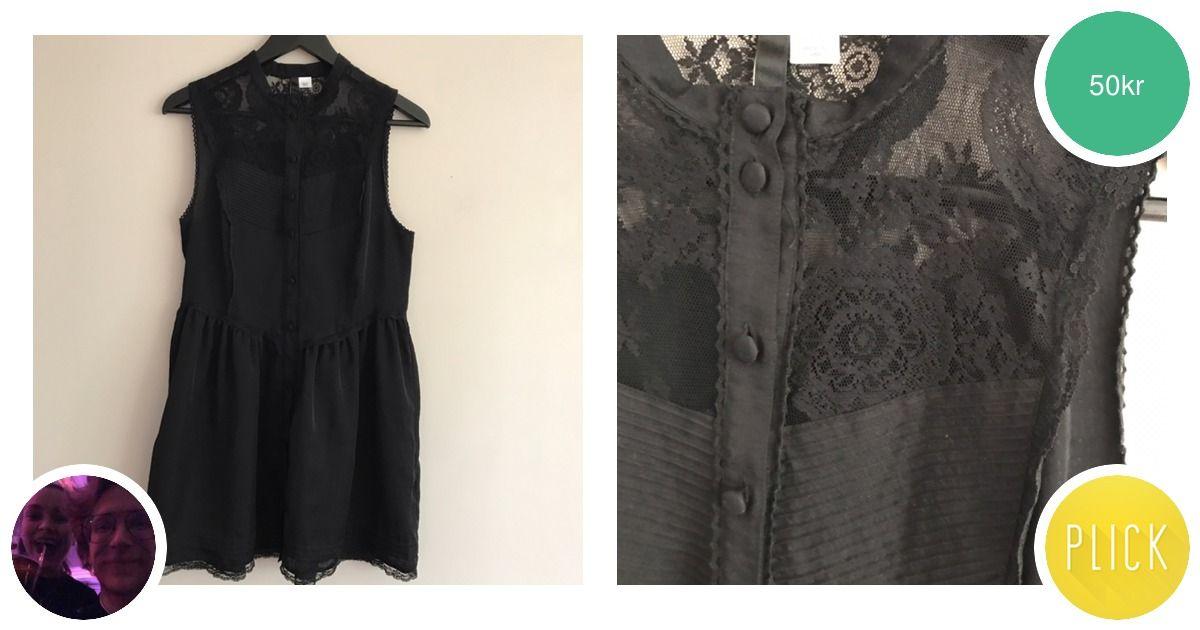 Cool goth-klänning med knappar - H M Klänningar - Second Hand cdd51b0ce2627