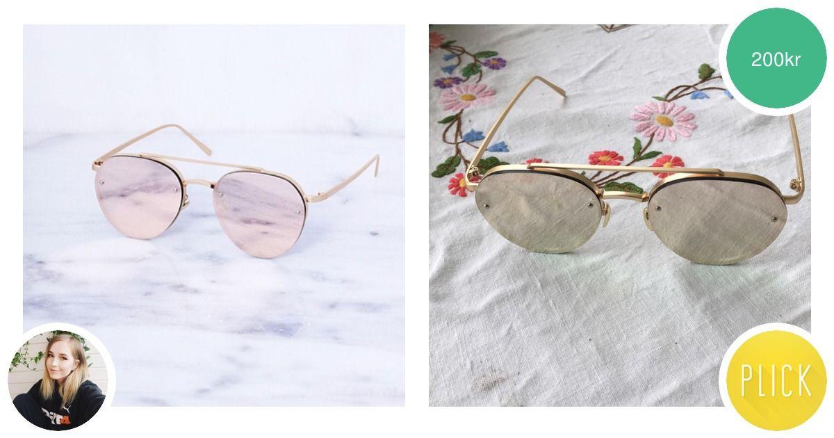 Ett par sjukt snygga solglasögon - Accessoarer - Second Hand df3d29d29fe00