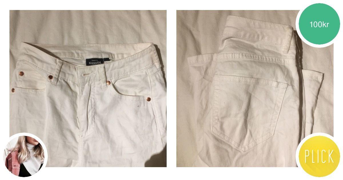 Vita bootcut-jeans från kappahl - Jeans   Byxor - Second Hand 4b45adef05466