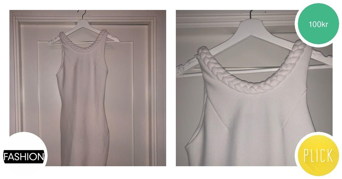 Tight vit klänning från BIKBOK - Bik Bok Klänningar - Second Hand 8898bc49969f2