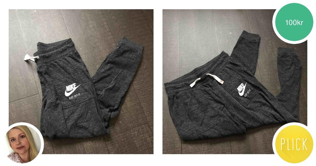 Mjukisbyxor från Nike. Tunnare - Nike Jeans   Byxor - Second Hand 38a6796607aef