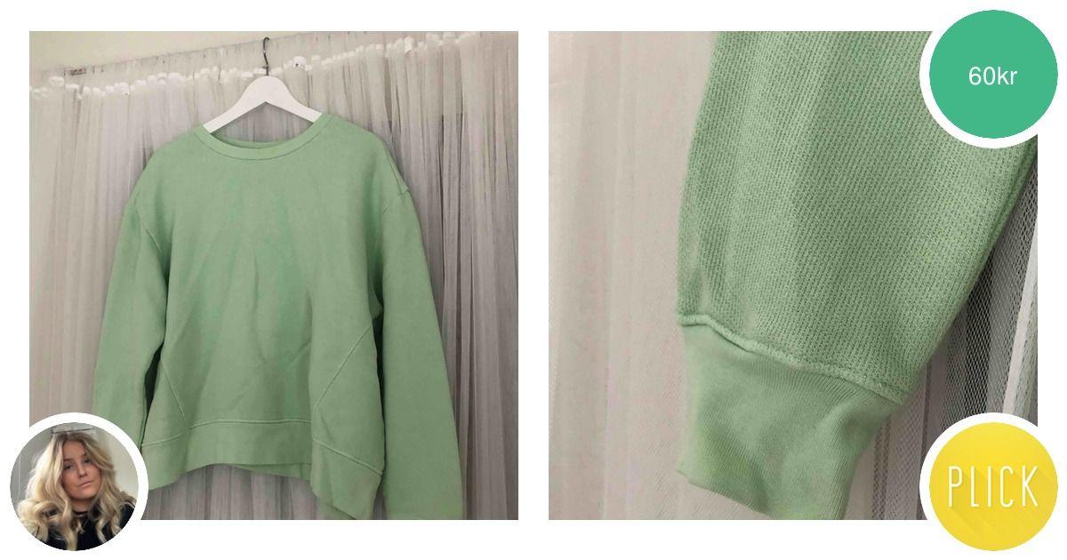 Oanvänd sweatshirt från zara i | Plick Second Hand
