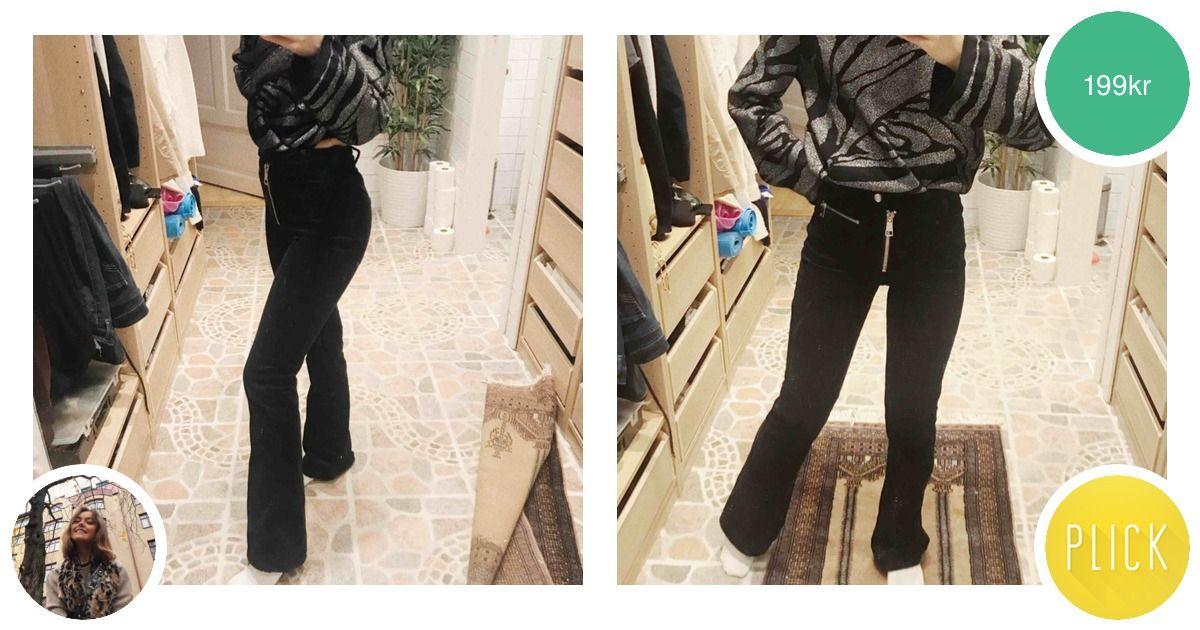 Från ELSA HOSKs kollektion för - Bik Bok Jeans   Byxor - Second Hand 4c8858669d539