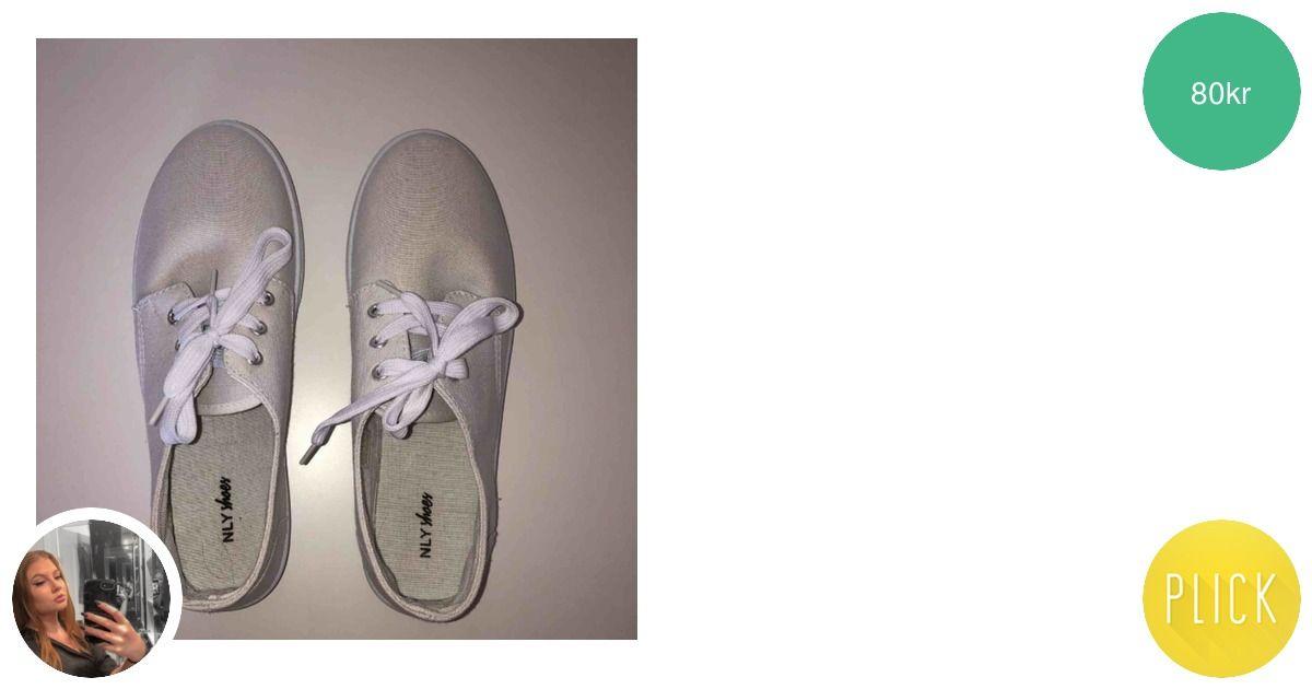 f06a8fefa3d Vita låga skor ifrån Nelly! Aldrig - Skor - Second Hand