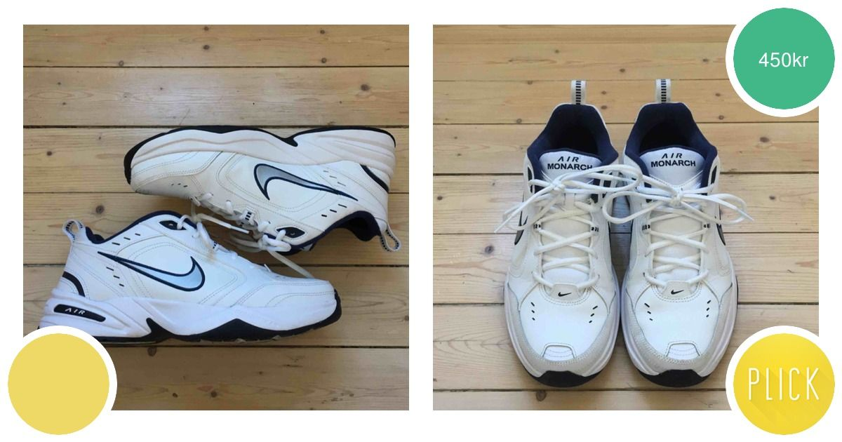 Nike Air Monarch IV i nyskick! | Plick Second Hand