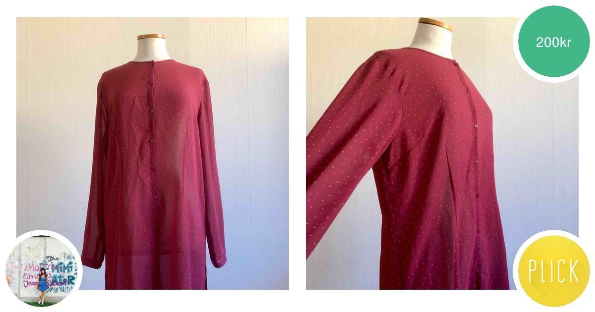 8daf5dba77f8 Rosa skjortklänning med ljusrosa - Lindex Klänningar - Second Hand