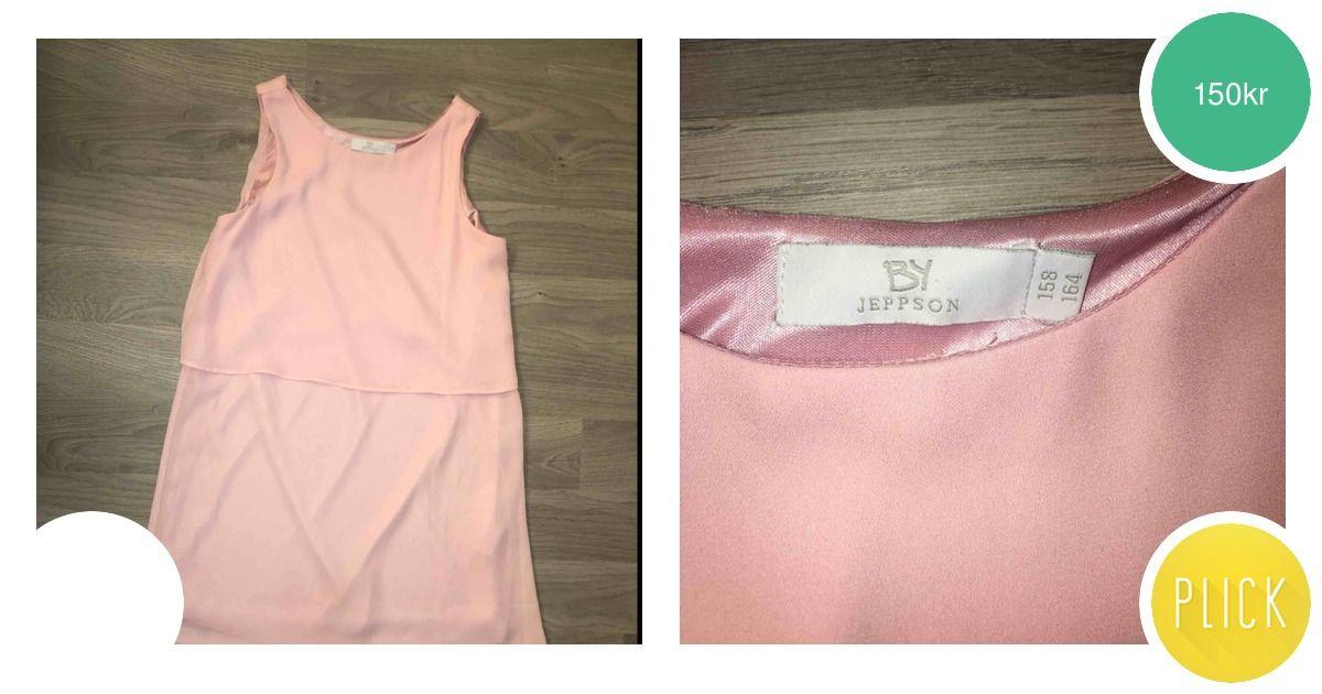7ee50aa38f9b Fin rosa klänning i bra sick fr - Klänningar - Second Hand